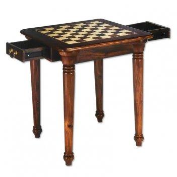 Стол шахматный с двумя ящиками tav22