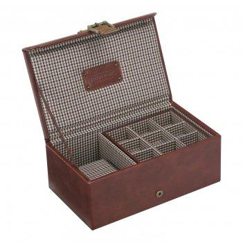 Lc designs 73494 шкатулка для хранения часов и запонок
