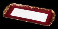 Рулетница ювел красный 876/1 36см. без ножки