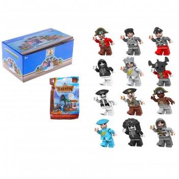 Фигурки для конструктора аусини, серия пираты