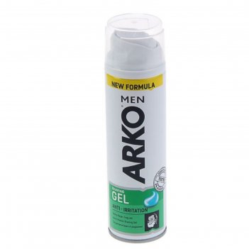 Гель для бритья arko men anti-irritation, 200 мл