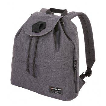 Рюкзак из ткани grey heather с отделением для ноутбука 13 (16 л) wen