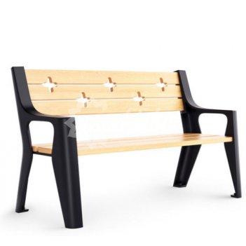 Скамейка чугунная «скамейкус-7» 2,0 м