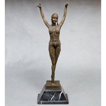 Ep-040 фигура бронзовая танцовщица