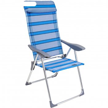 Кресло складное gogarden sunday 69x60x109 см, цвет синий