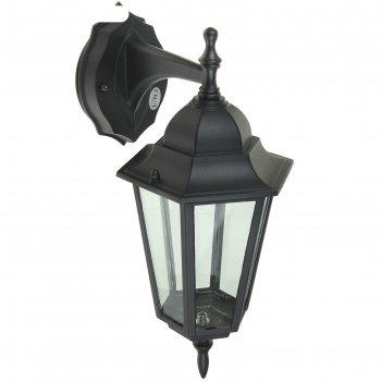 Светильник tdm 6060-02 садово-парковый шестигранник, 60вт, вниз, черный