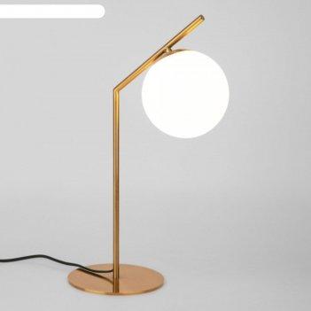 Настольная лампа frost, 1x60вт e27, цвет латунь