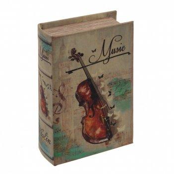 Шкатулка-книга, l10,5 w5 h17 см