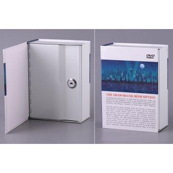 Стальной ящик для хранения с замком 14*6,5*19 см