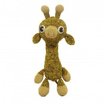 Набор для вязания игрушки жираф африка 16х12 см
