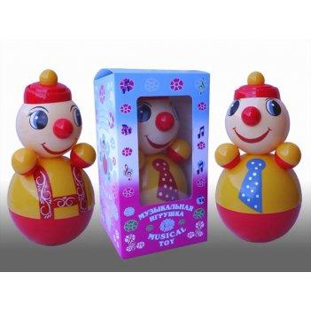 Неваляшка клоун (21см) в упаковке (россия)