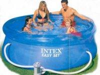 Бассейн easy set 305х76 см, фильтр-насос 220-240 v, от 6 лет