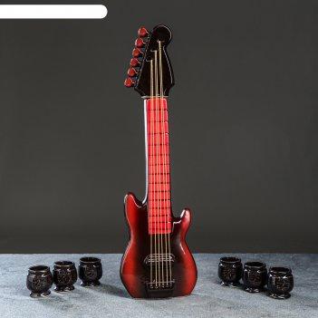Коньячный набор гитара 1л/0,05л