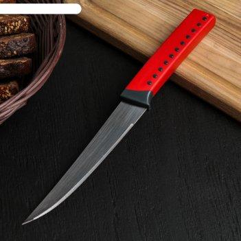 Нож кухонный lemax, 14 см, для хлеба, цвет микс