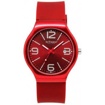 Часы унисекс intimes it-088 red