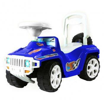 Ор419 каталка race mini formula 1 синий