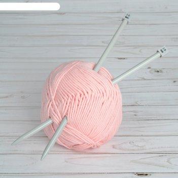 Спицы для вязания, прямые, с тефлоновым покрытием, d = 10 мм, 35 см, 2 шт