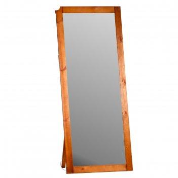 Зеркало напольное, 176x76x5 см, мореное