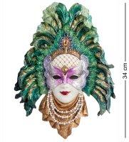 Ws-325 венецианская маска перо павлина