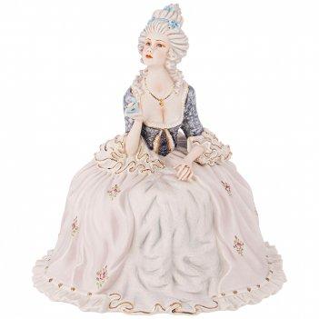 Фигурка дама с карнавальной маской высота=30 см.
