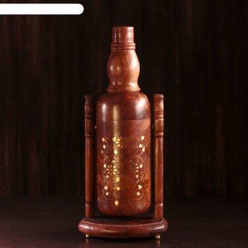 Подставка под бутылку сказка 16х16х38 см