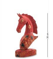 10-014-03 фигурка лошадь (батик, о.ява) бол 25см