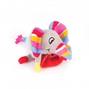 Игрушка - погремушка на ручку «слонёнок джамбо»