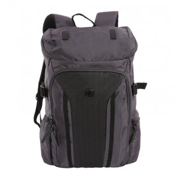 Рюкзак wenger 15'', серый / чёрный, полиэстер 900d/ м2 добби, 29