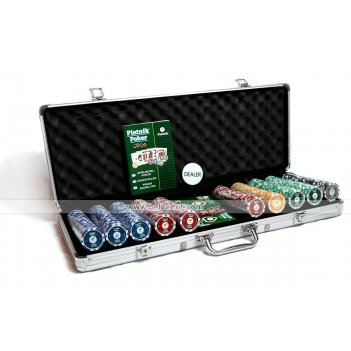Набор для игры в покер (500 фишек) piatnik pro poker