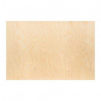 Планшет деревянный 40 х 60 х 2 см, фанера (для рисования эпоксидной смолой
