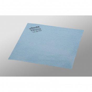 Салфетка для профессиональной уборки pva micro 38х35 см, цвет голубой