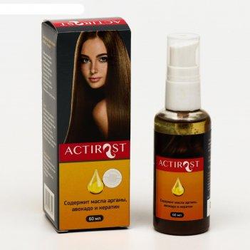Спрей для волос actirost, 60 мл