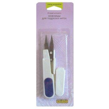 Ножницы для подрезки ниток с защитным колпачком wellcraft