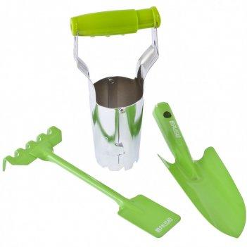 Набор садового инструмента, цельнометаллический, 3 предмета, fresh line pa