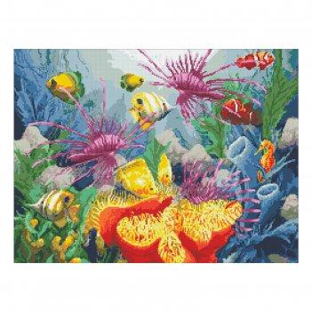 Набор алмазной вышивки «подводный мир»