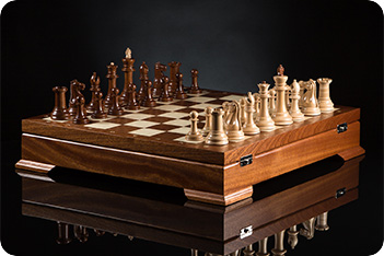 Шахматы стаунтон коллекционный kadun