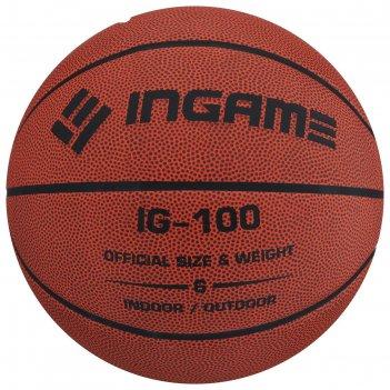 Мяч баскетбольный ingame ig-100 №6