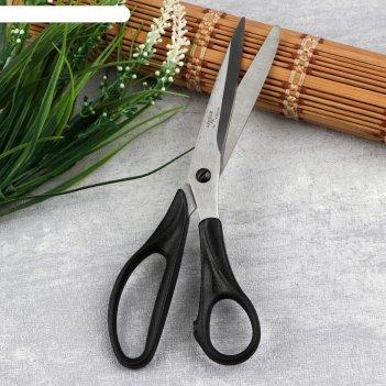 Ножницы портновские, 21,5 см, цвет чёрный
