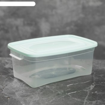 Контейнер пищевой 1 л каскад, цвет микс