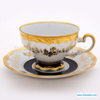 Набор для чая анна амалия 820(чашка210мл.+блюдце) на 6перс