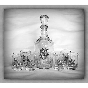 Набор для водки утиная охота  арт. нгс130уто-16