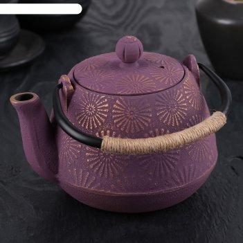 Чайник с ситом 900 мл астор