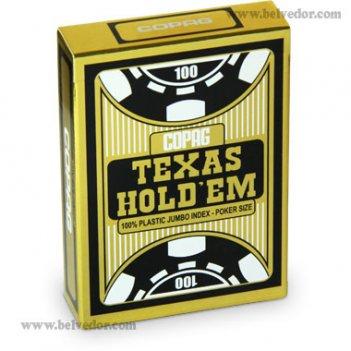 Карты для игры в покер copag texas holdem gold jumbo