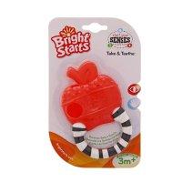 Мягкий прорезыватель для зубок «полосатое колечко» микс 8986-1