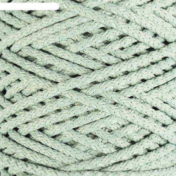 Шнур для вязания с сердечником 100% полиэфир, ширина 5 мм 100м/550гр (21 с