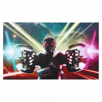 Постер звёздный лорд 100х60 см