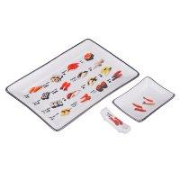 Набор для суши 3 предмета: блюдо, соусник, подстав...