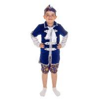 Карнавальный костюм царевич, 4 предмета: шапка, пояс, штаны, кафтан, разме