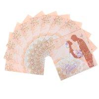 Салфетка для декупажа свадьба (набор 10 шт.)