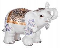 Фигурка-слон белыйцеломудрие высота=41 см.(кор=4...